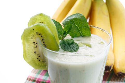 Banana kiwi smoothie