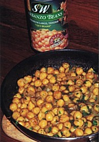 Curry chickpea recipe