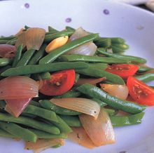 Fresh green beans recipe