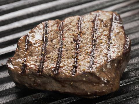 Grill pan steak