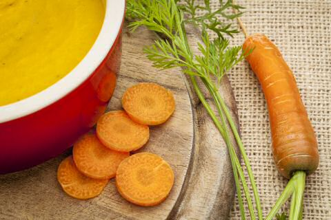 Recipe for carrot soup