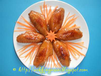 Recipe for chicken wings
