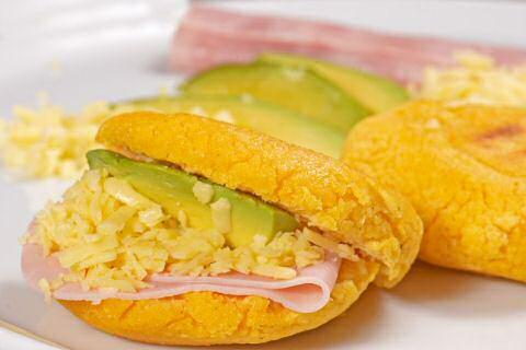 Venezuelan arepas recipe